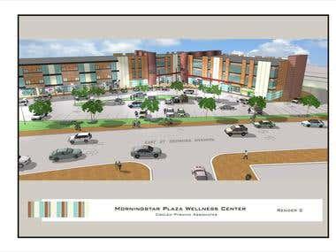 Mall Initial exterior design - 2014