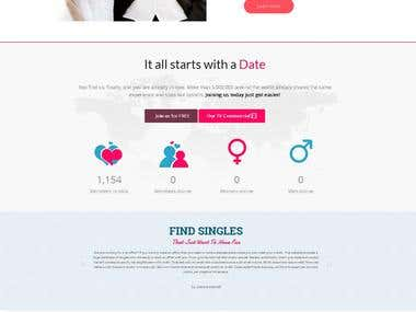 Dating web site development ( CodeIgniter )