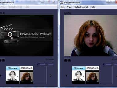 Web Camera Recorder