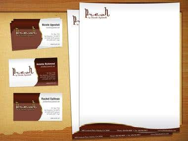 Business Cards / Stationaries