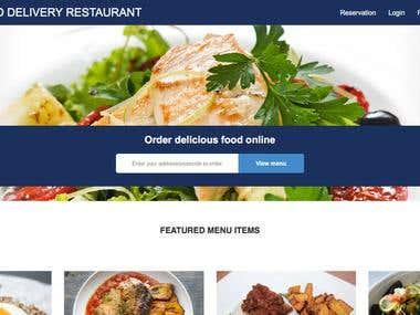 Codeigniter - Online Multi Restaurant