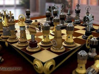 Chess Stempunk