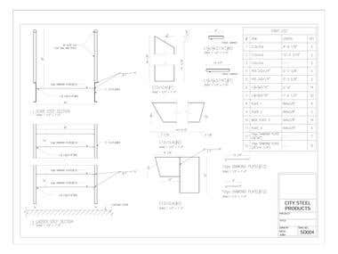 Stair Shop Drawing