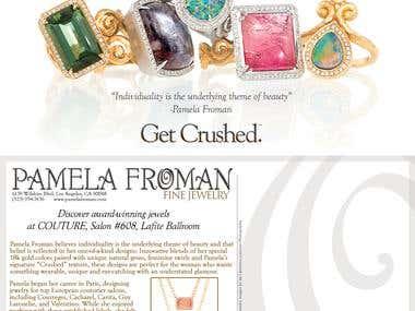Postcard Design and Copywriting for Jewelry Designer (#1)