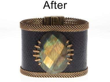 Image Retouching for Jewelry Designer