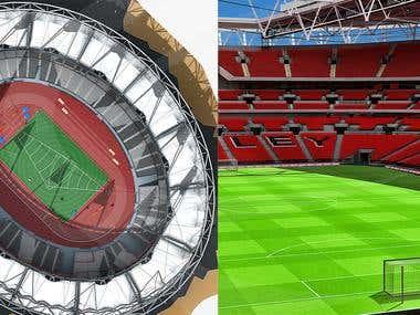 3D Stadiums