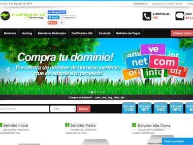 Desing HTML5 WEBSITE CanguroHosting.com