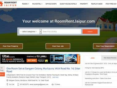 Roomrent Jaipur like OLX
