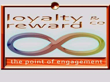 Logo for loyalty and reward co.