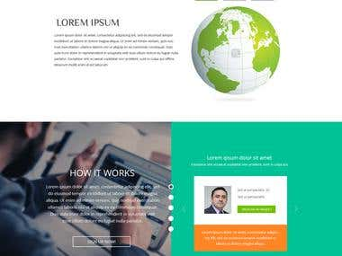 Clean and Professional Web page design