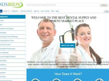 DDSBIDS: THE BEST DENTAL SUPPLY AND EQUIPMENT MARKET PLACE