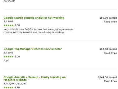 Google Analytic, Google Adword & Google Tag Manager