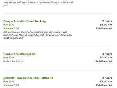 Google Analytic Implement Client Review