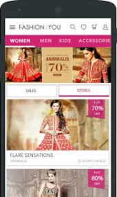 ONLINE FASHION ANDROID APPLICATION