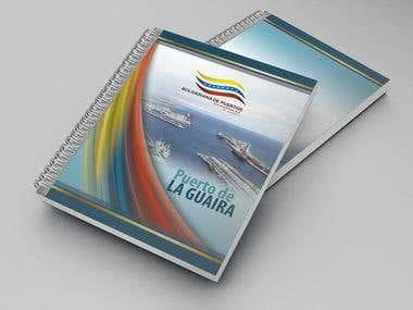 corporate notebook for Venezuelan Port Authority
