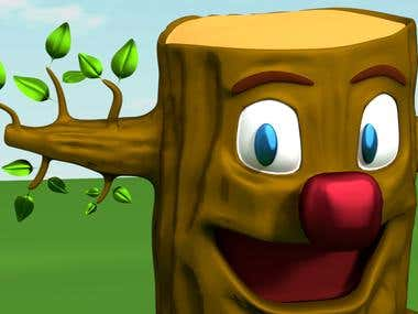 kindergarten 3d character