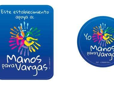 logo for Venezuelan benefic Foundation