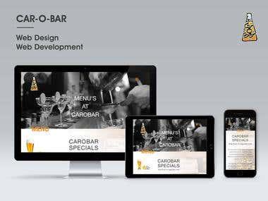 CAR-O-BAR Website Design & Development