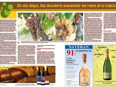 Wine & champaign