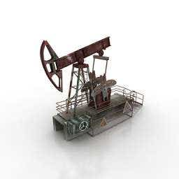 3d model of Oil rocker