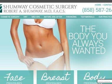 SEO & PPC for Cosmetic Surgery Website