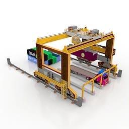 3D model of Crain