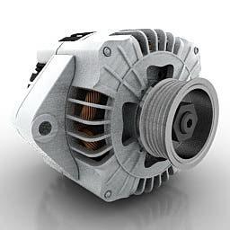 3D model of Auto generator