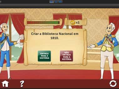 Educational App for Brazilian tourism