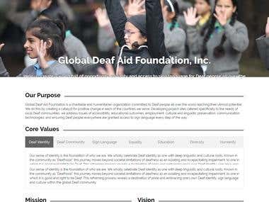 Globel Deaf Aid Foundation