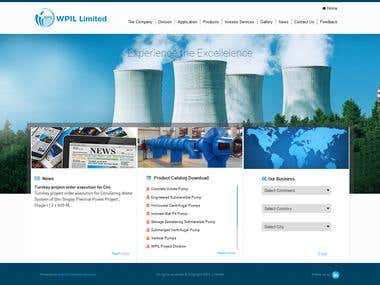 WPLL Responsive WordPress CMS website