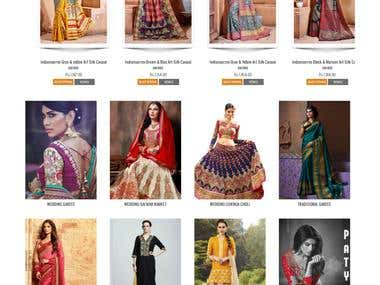 India Sarees Fashion Store