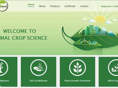 Agreecluture site-http://nirmalcropscience.in/