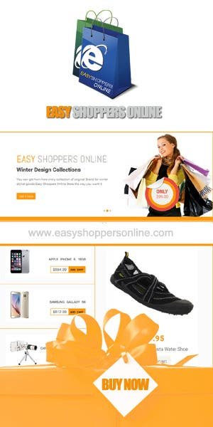 E-COMMERCE SITE FLYER DESIGN