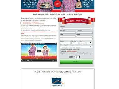 Variety Home Lottery