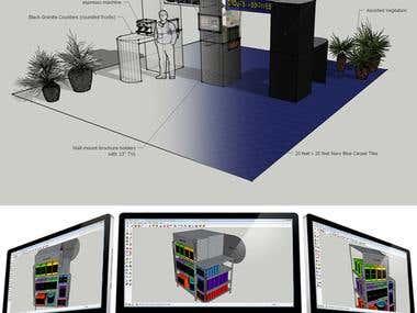 3D Renderings - Sketchup
