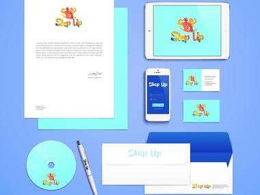 Step up  - logo +  corporate identity