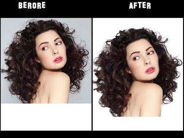 Masking hair