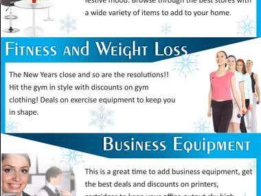 New Year Sale advertisement design