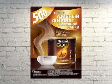 Nescafé Poster design