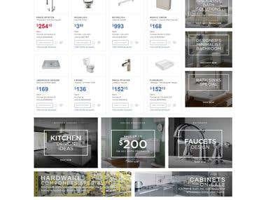 kitchen & bath products webiste