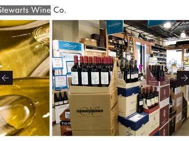 Stewarts Wine Web Shop