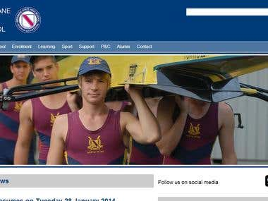 Brisbane State High School (Drupal)