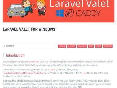 Laravel Valet For Windows