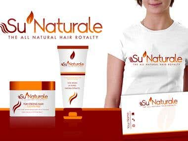 Logo Design for Su'Naturale
