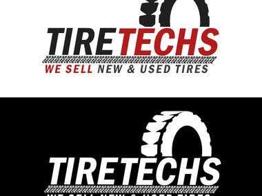 Logo Design   Tire Techs