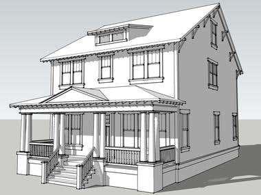 3D modelling in SketchUp