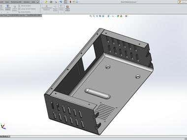 Sheet Metal Design on Catia and Solidworks