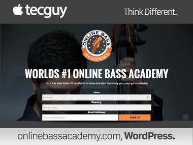 Video Lessons Base Website
