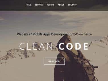 Nanotave.com portfolio website