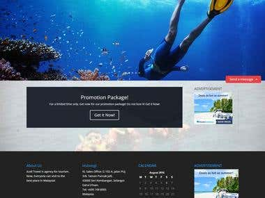 Xcell Travel Malaysia Website